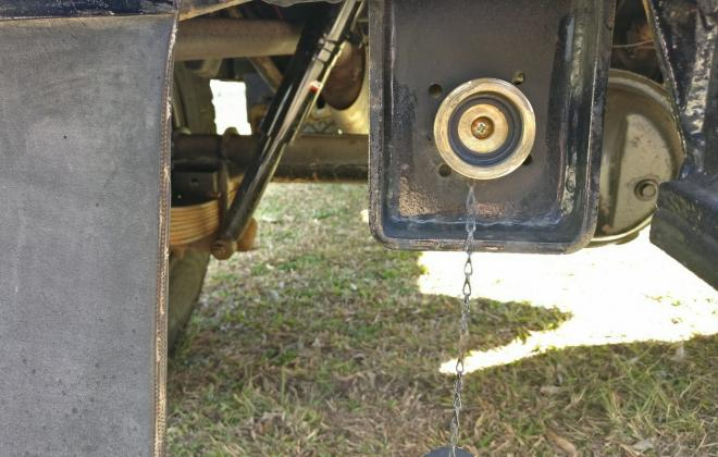 1977 FJ40 rear towbar and gas shocks images for sale (2).jpg