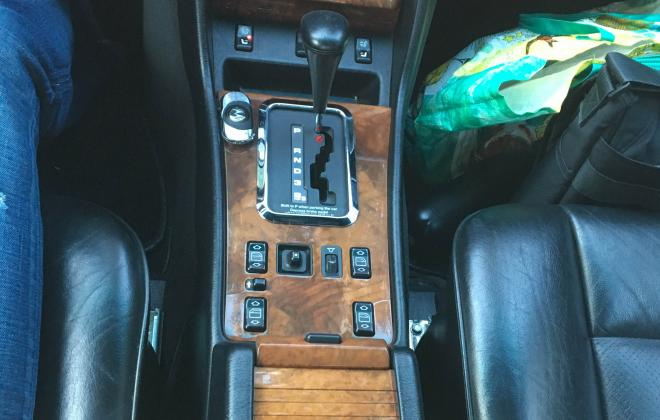 1991 Mercedes 560 SEC for sale black paint black leather images california (16).JPG