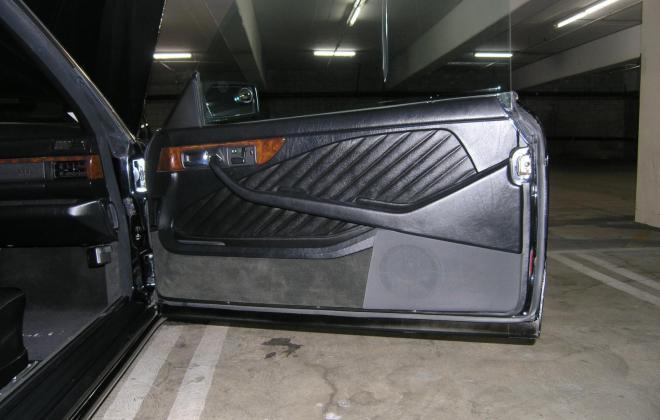 1991 Mercedes 560 SEC for sale black paint black leather images california (28).JPG
