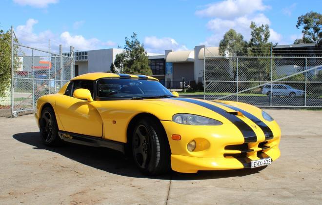 2001 Series 2 Dodge Viper for sale Australia Viper Race Yellow image (1).JPG