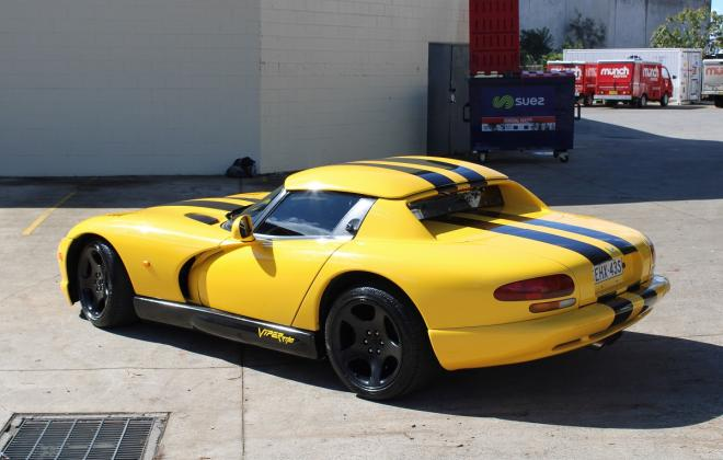 2001 Series 2 Dodge Viper for sale Australia Viper Race Yellow image (10).JPG