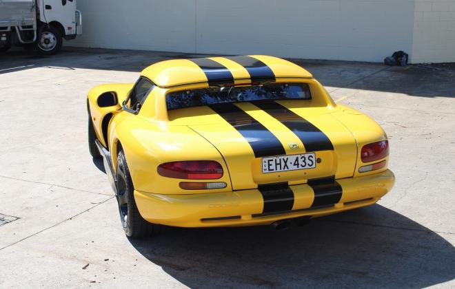 2001 Series 2 Dodge Viper for sale Australia Viper Race Yellow image (11).JPG