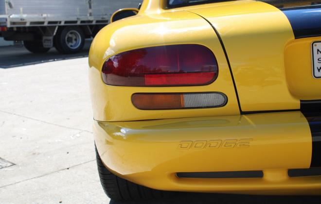 2001 Series 2 Dodge Viper for sale Australia Viper Race Yellow image (13).JPG