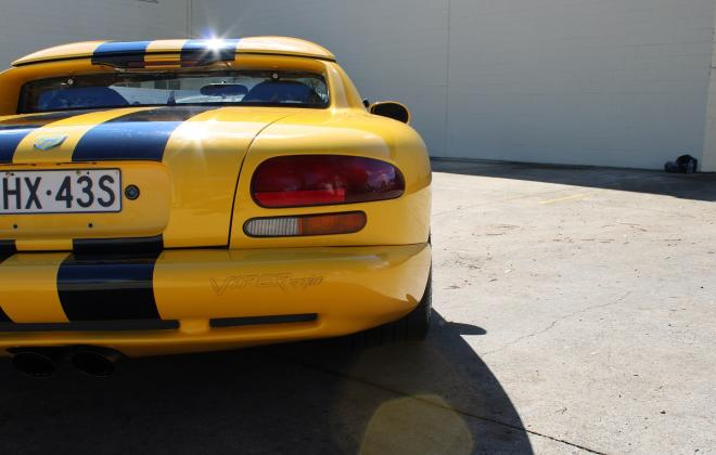 2001 Series 2 Dodge Viper for sale Australia Viper Race Yellow image (15).JPG