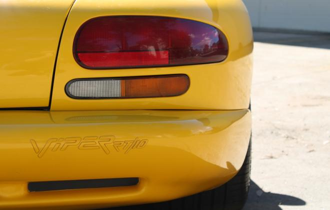 2001 Series 2 Dodge Viper for sale Australia Viper Race Yellow image (16).JPG