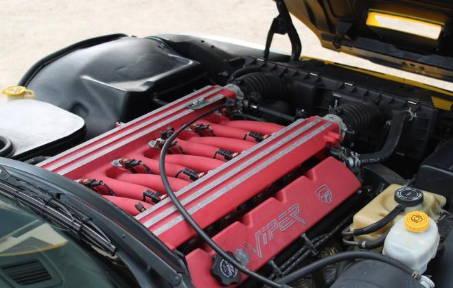 2001 Series 2 Dodge Viper for sale Australia Viper Race Yellow image (168).JPG
