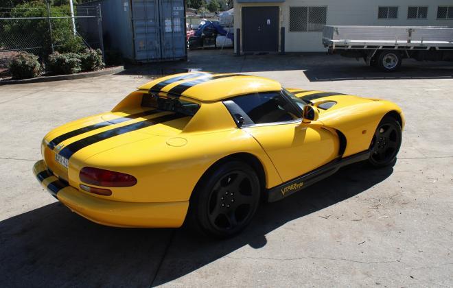 2001 Series 2 Dodge Viper for sale Australia Viper Race Yellow image (18).JPG