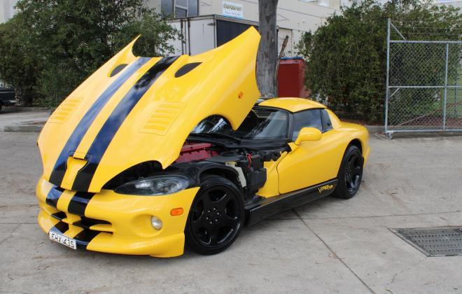 2001 Series 2 Dodge Viper for sale Australia Viper Race Yellow image (184).JPG