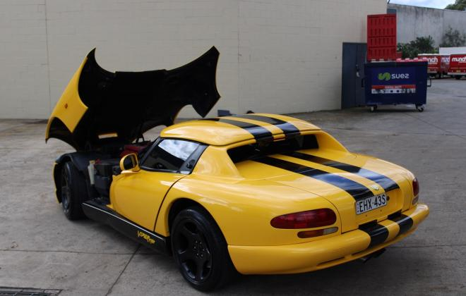 2001 Series 2 Dodge Viper for sale Australia Viper Race Yellow image (194).JPG