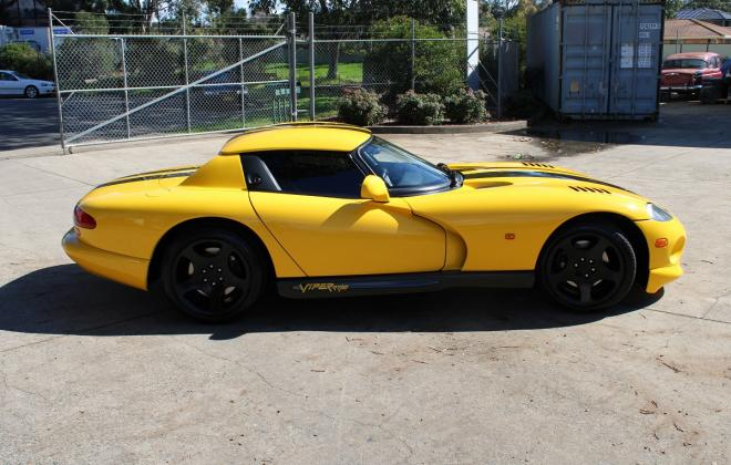 2001 Series 2 Dodge Viper for sale Australia Viper Race Yellow image (21).JPG