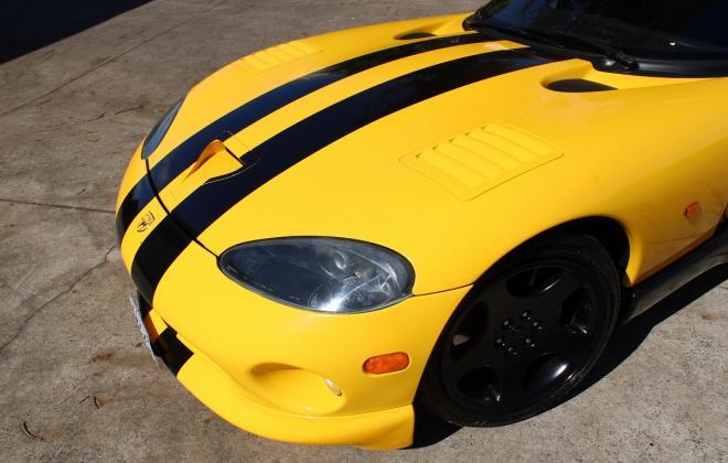 2001 Series 2 Dodge Viper for sale Australia Viper Race Yellow image (28).JPG