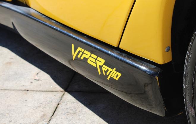 2001 Series 2 Dodge Viper for sale Australia Viper Race Yellow image (32).JPG