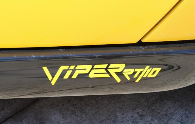 2001 Series 2 Dodge Viper for sale Australia Viper Race Yellow image (33).JPG