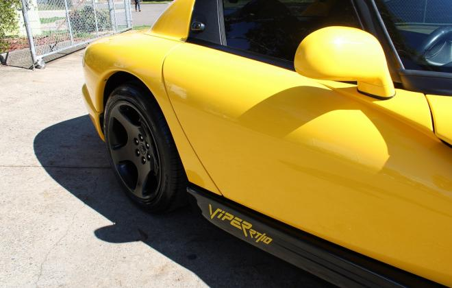2001 Series 2 Dodge Viper for sale Australia Viper Race Yellow image (37).JPG