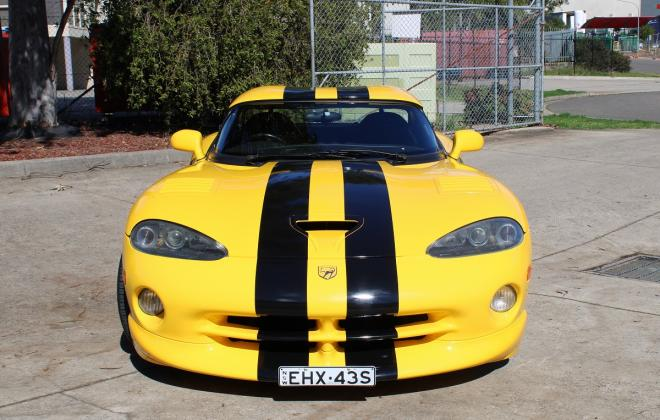 2001 Series 2 Dodge Viper for sale Australia Viper Race Yellow image (4).JPG