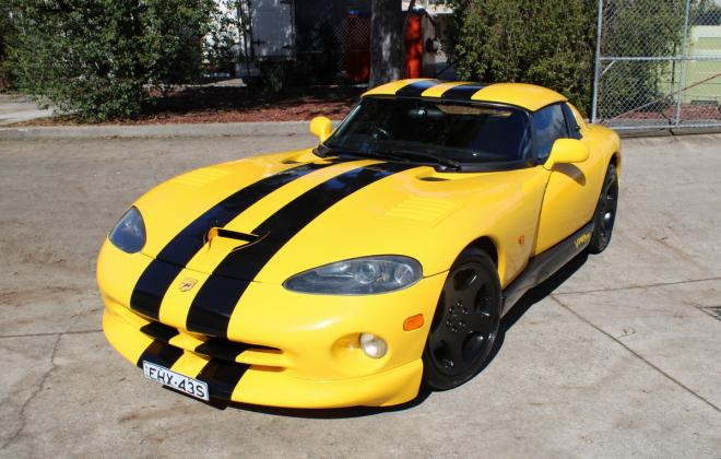 2001 Series 2 Dodge Viper for sale Australia Viper Race Yellow image (51).JPG