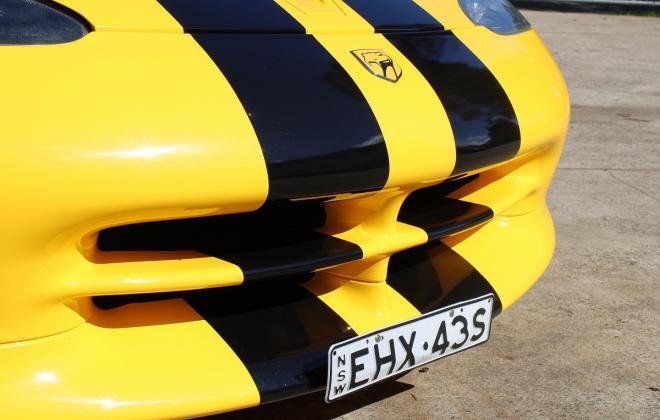 2001 Series 2 Dodge Viper for sale Australia Viper Race Yellow image (56).JPG