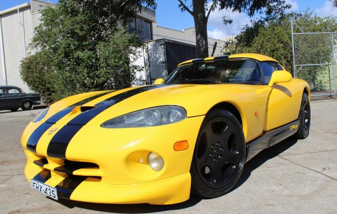 2001 Series 2 Dodge Viper for sale Australia Viper Race Yellow image (77).JPG