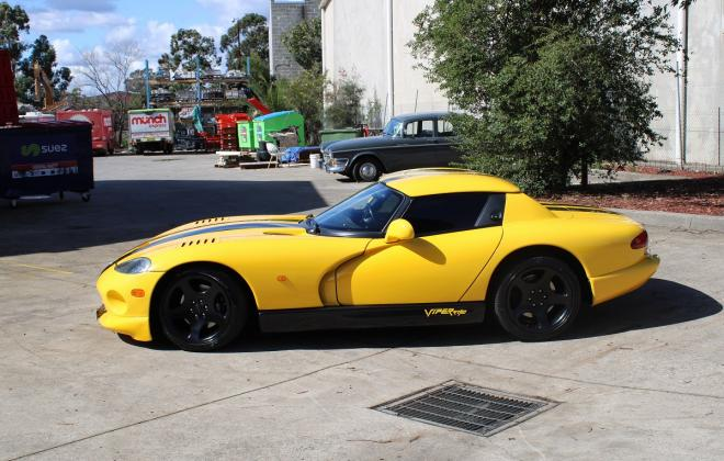 2001 Series 2 Dodge Viper for sale Australia Viper Race Yellow image (8).JPG