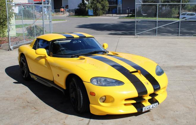 2001 Series 2 Dodge Viper for sale Australia Viper Race Yellow image (83).JPG