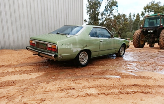 3 For sale Nissan Skuline C210 coupe Australia green images (2).png