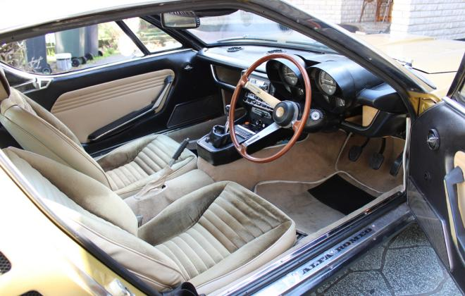 Alfa Montreal for sale Sydney Australia 1974 interior images (14).jpg