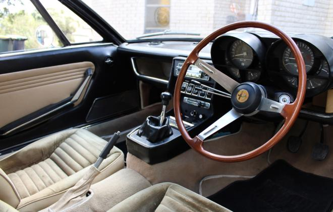 Alfa Montreal for sale Sydney Australia 1974 interior images (17).jpg