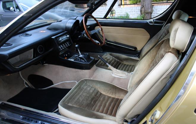 Alfa Montreal for sale Sydney Australia 1974 interior images (19).jpg