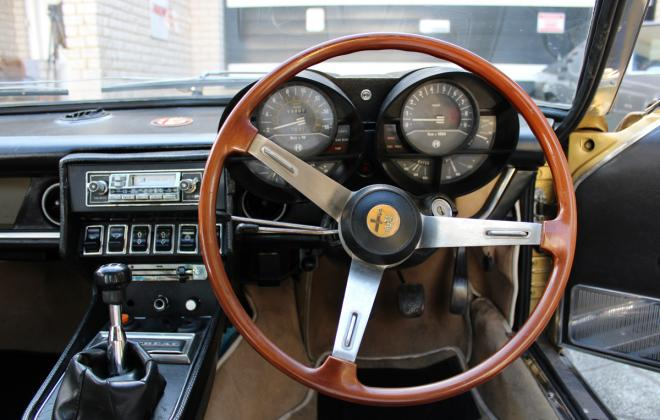 Alfa Montreal for sale Sydney Australia 1974 interior images (21).jpg