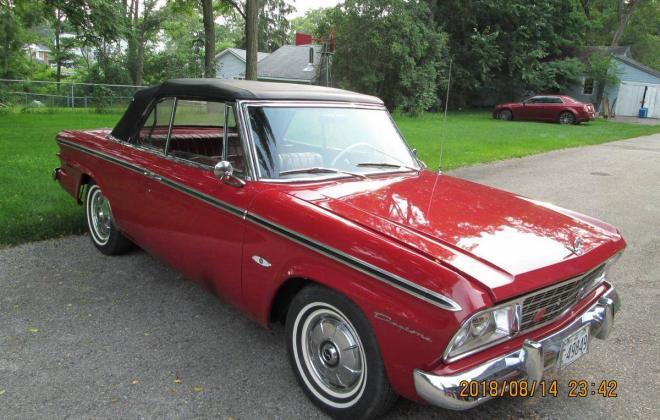 For Sale - 1964 Studebaker Daytona Convertible Bordeau Red black roof (1).jpg