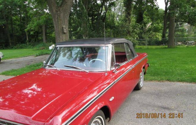 For Sale - 1964 Studebaker Daytona Convertible Bordeau Red black roof (15).jpg