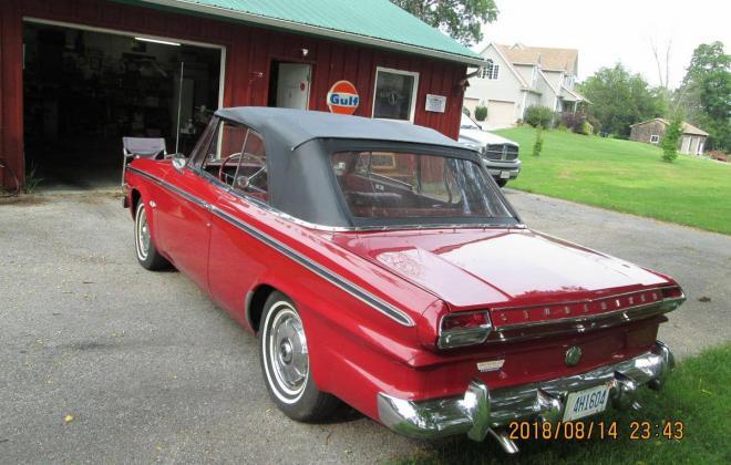 For Sale - 1964 Studebaker Daytona Convertible Bordeau Red black roof (4).jpg