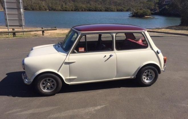 For Sale - 1967 MK1 Morris Cooper S Special Burgundy on Snow White red trim images (1).jpg