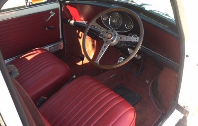 For Sale - 1967 MK1 Morris Cooper S Special Burgundy on Snow White red trim images (4).jpg