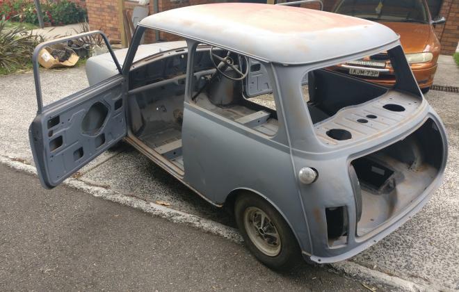 For Sale - 1971 British Mini body for sale Australia clubman sydney (41).jpg