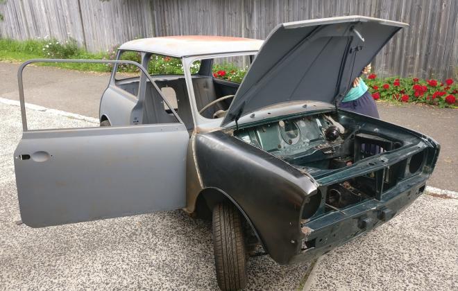 For Sale - 1971 British Mini body for sale Australia clubman sydney (59).jpg