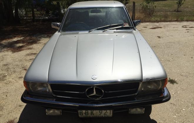 For Sale - Melbourne 1978 Mercedes 450SLC silver (2).jpg