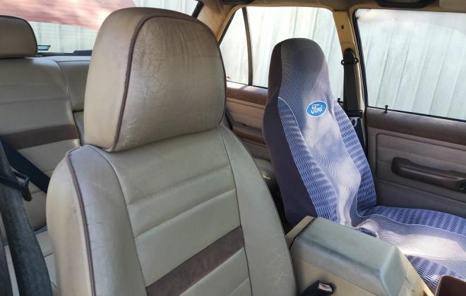 For Sale Ford Fairmont Ghia XE interior trim pictures Chamois leather (5).jpg