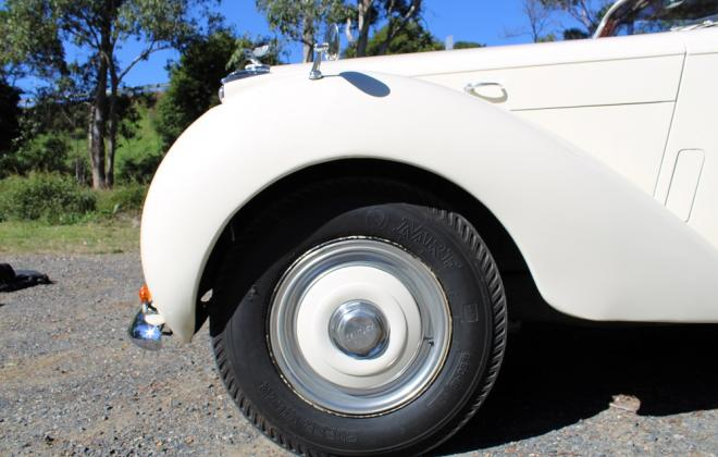 For sale - 1951 Bentley Mark VI Mark 6 White southern highlands NSW (12).JPG