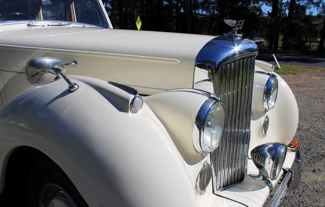 For sale - 1951 Bentley Mark VI Mark 6 White southern highlands NSW (13).JPG