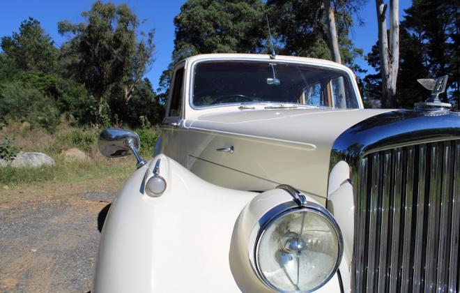 For sale - 1951 Bentley Mark VI Mark 6 White southern highlands NSW (14).JPG