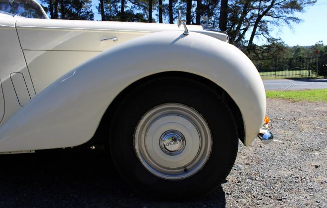 For sale - 1951 Bentley Mark VI Mark 6 White southern highlands NSW (15).JPG