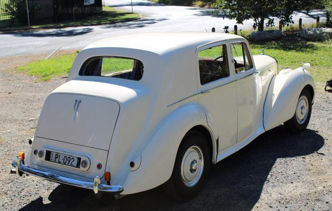 For sale - 1951 Bentley Mark VI Mark 6 White southern highlands NSW (19).JPG
