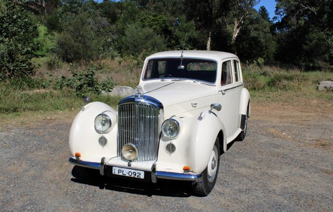 For sale - 1951 Bentley Mark VI Mark 6 White southern highlands NSW (2).JPG