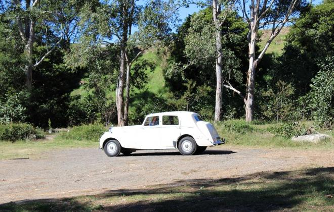 For sale - 1951 Bentley Mark VI Mark 6 White southern highlands NSW (24).JPG