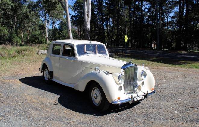 For sale - 1951 Bentley Mark VI Mark 6 White southern highlands NSW (3).JPG
