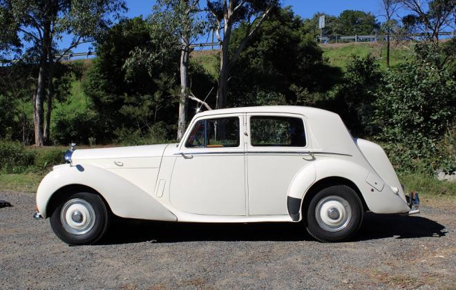 For sale - 1951 Bentley Mark VI Mark 6 White southern highlands NSW (4).JPG