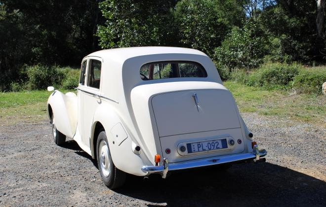 For sale - 1951 Bentley Mark VI Mark 6 White southern highlands NSW (6).JPG