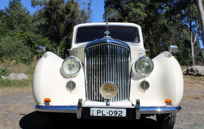 For sale - 1951 Bentley Mark VI Mark 6 White southern highlands NSW (8).JPG