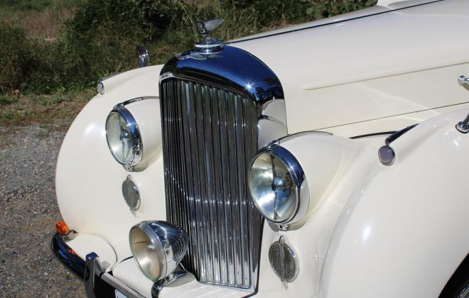 For sale - 1951 Bentley Mark VI Mark 6 White southern highlands NSW (9).JPG